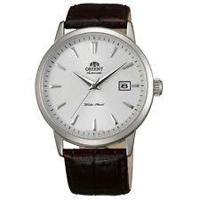 Orient ER27007W Men's Symphony Automatic Black Leather Strap Mechanical Watch
