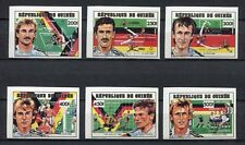 s6344) GUINEA 1990 MNH** WC Football'90- CM Calcio 6v IMPERF.