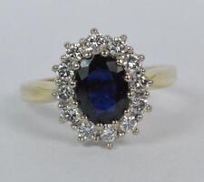 Yellow Gold Sapphire 18Carat Ring Vintage Fine Jewellery