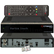 ► Octagon sf4008 triple 4k 2x dvb-s2x e2 twin Linux MILMEIT receiver + wlan neuf emballage d'origine