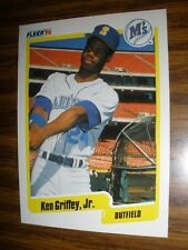 1990 Fleer  #513  Ken Griffey Jr Seattle Mariners  NrMt