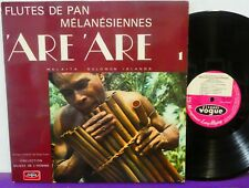 FLUTES DE PAN MALAITA MELANESIENNES SOLOMON ISLANDS LP Vogue ETHNIC