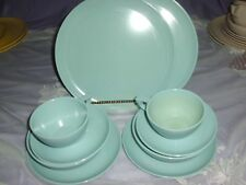 1950s 10 Table To Terrace TURQUOISE Melmac DINNER, BREAD, BOWL,CUP, SAUCER READ