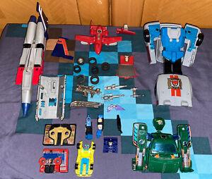 G1 Transformers - Broken Parts Lot - Starscream, Hoist & more - Hasbro - Vintage
