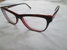 Ana Hickmann pink / brown tortoiseshell glasses frames. AH 6197.