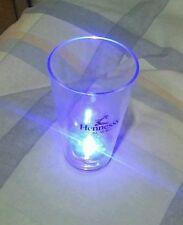 12  Hennessy black light up Shot Glass (plastic)