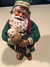 Possible Dreams Santa Holding Baby Seal.  Rare