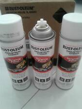 Box of 6x RustOleum Striping Paint Inverted Marking Paint 482g White