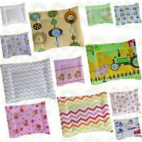 PILLOW CASE  60x40 35x25 BABY crib cot bed junior bed toddler bed BOY GIRL
