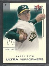 2004 Ultra Baseball - Ultra Performers - #13 - Barry Zito - Oakland A's
