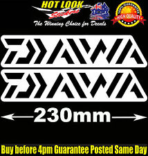 Daiwa Fishing Boat Stickers Suit 4X4 Caravan Camping Tandem Trailer Fridge Kayak
