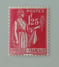 France 1937 1939 370 neuf luxe ** type paix