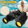60X60 Zoom Day/Night Vision Outdoor HD Binoculars Hunting Telescope + Case SET