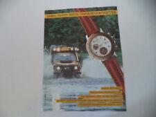 advertising Pubblicità 1990 CAMEL TROPHY WATCH MULTICHRONO