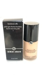 Giorgio Armani Luminous Silk Foundation - Shade #5 30ml *READ* Authentic