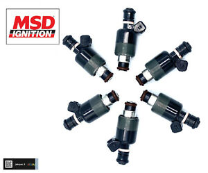 NEW 6 PCS Fuel Injector MSD BRAND Fits- Buick, Pontiac, Chevrolet, Oldsmobile