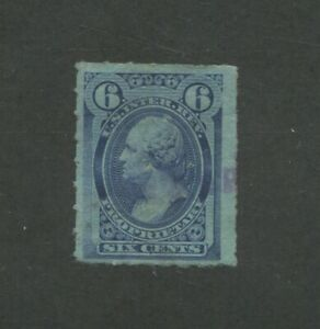 United States Interior Revenue Proprietary Stamp #RB17c Used VF Rouletted
