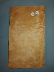 CONSECUTIVE SHEETS OF FIGURED SATINWOOD VENEER 18 X 32 CM SW#3 MARQUETRY