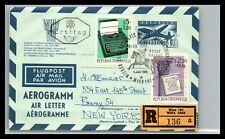 Gp Goldpath: Austria Arogram 1965 First Day To U.S.A. Cv309_P03