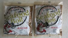 2 bags of Cajun Spice for all seafood ( 16 oz. each bag ) Seafood Boil crawfish