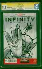 Wolverine Infinity 3 CGC SS 9.8 Stan Lee vs Hulk 340 Lego Homage 11/13 Variant