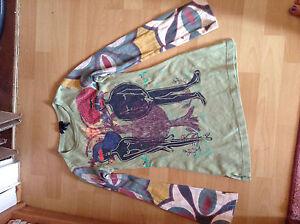 Custo Barcelona Shirt Adam und Eva - 2, Rarität, 100% Cotton