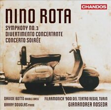 Rota: Symphony No 3; Divertimento Concertante; Concerto Soiree, New Music