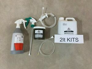 Lanoguard Lanolin Moto Spray.  Vehicle Underbody and Chassis Care 2lt & 5lt kits