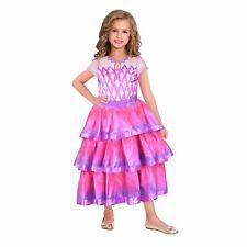 Barbie Gem Ballgown Dress Up Kids Fancy Dress Costume 5-7 Years