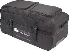 TSE Clam Shell Split Wheely Roller Bag - Tough with Massive 123L Capacity