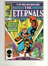 ETERNALS 1-12 1985 SET Marvel Movie Soon! 1st Fastos, Khorphos, Cybele! +BONUS 1