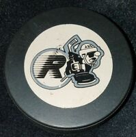 KINGSTON RAIDERS VINTAGE OHL JR. A OFFICIAL INGLASCO CANADA HOCKEY PUCK