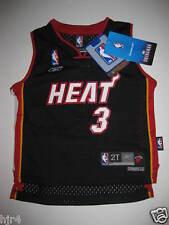 Dwyane Wade #3 Miami Heat Swingman NBA Adidas Jersey Toddler 2T NEW