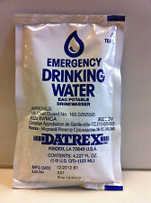10 Packets Datrex Emergency Purified Drinking Water - 125ml