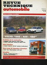 (5B)REVUE TECHNIQUE AUTOMOBILE VOLVO 440 - 460 - 480