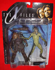 THE X FILES FIGURE ATTACK ALIEN WITH CAVEMAN MOC