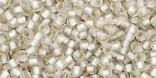10G SIZE 11/o GLASS TOHO SEED BEADS ROUND LOTS COLOURS <<UK STOCK>> SILVER-LINED