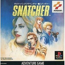 USED Snatcher Japan Import PS