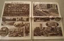 The New York Times Rotogravure Picture Section In Two Parts Sunday July 21, 1918