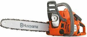 "HUSQVARNA 120 MARK II 14"" PETROL CHAINSAW NEW BOXED WITH WARRANTY"