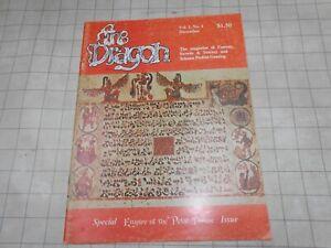 TSR AD&D Dungeons & Dragon Magazine #4 1976 RARE!