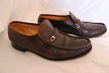 FLORSHEIM Imperial Brown Soft Leather Loafers Sz 9 C (Narrow Mens Shoes