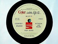Hear Rare Coca Cola Advertising Radio Record: Coke Adds Life To ....Music