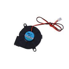 DC 12V 50mm Cooling Fan Blow Radial Hotend / Extruder For RepRap 3D Printer Pop