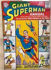 SUPERMAN ANNUAL #6 (1962/1963) DC Comics VG+
