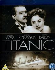 Titanic [1953] [Region Free] (Blu-ray) Clifton Webb, Barbara Stanwyck