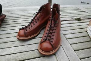 Red Wing NEW 2996 8.5 NEW Lineman Retan Goodyear Welt Made in USA Seconds