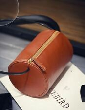 Classic Cylinder Sling Bag (Brown)