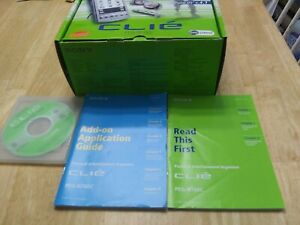 Sony CLIE PEG-N760C Personal Entertainment PDA 8MB Original Box, all accessories