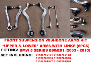 BMW 5 SERIES E61 FRONT SUSPENSION WISHBONE CONTROL ARM LINKS